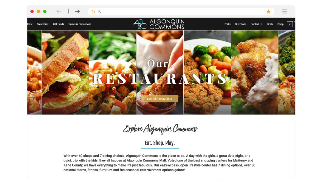 Algonquin Commons Homepage