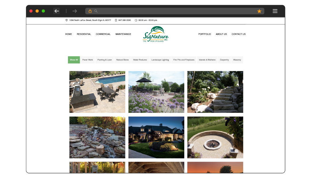 Signature Landscaping Gallery