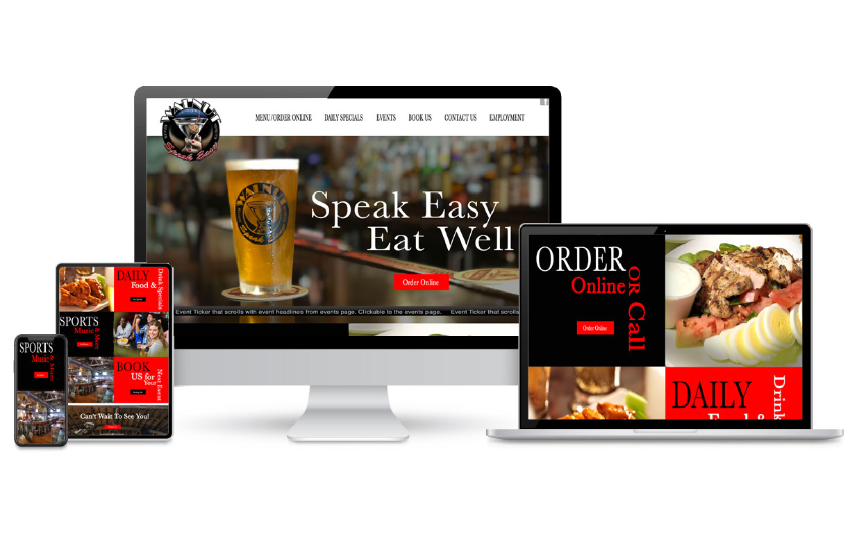 Walnute Speak Easy Website Designs