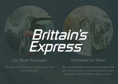 Brittain's Express Oil & Lube and Brittain's Car Wash
